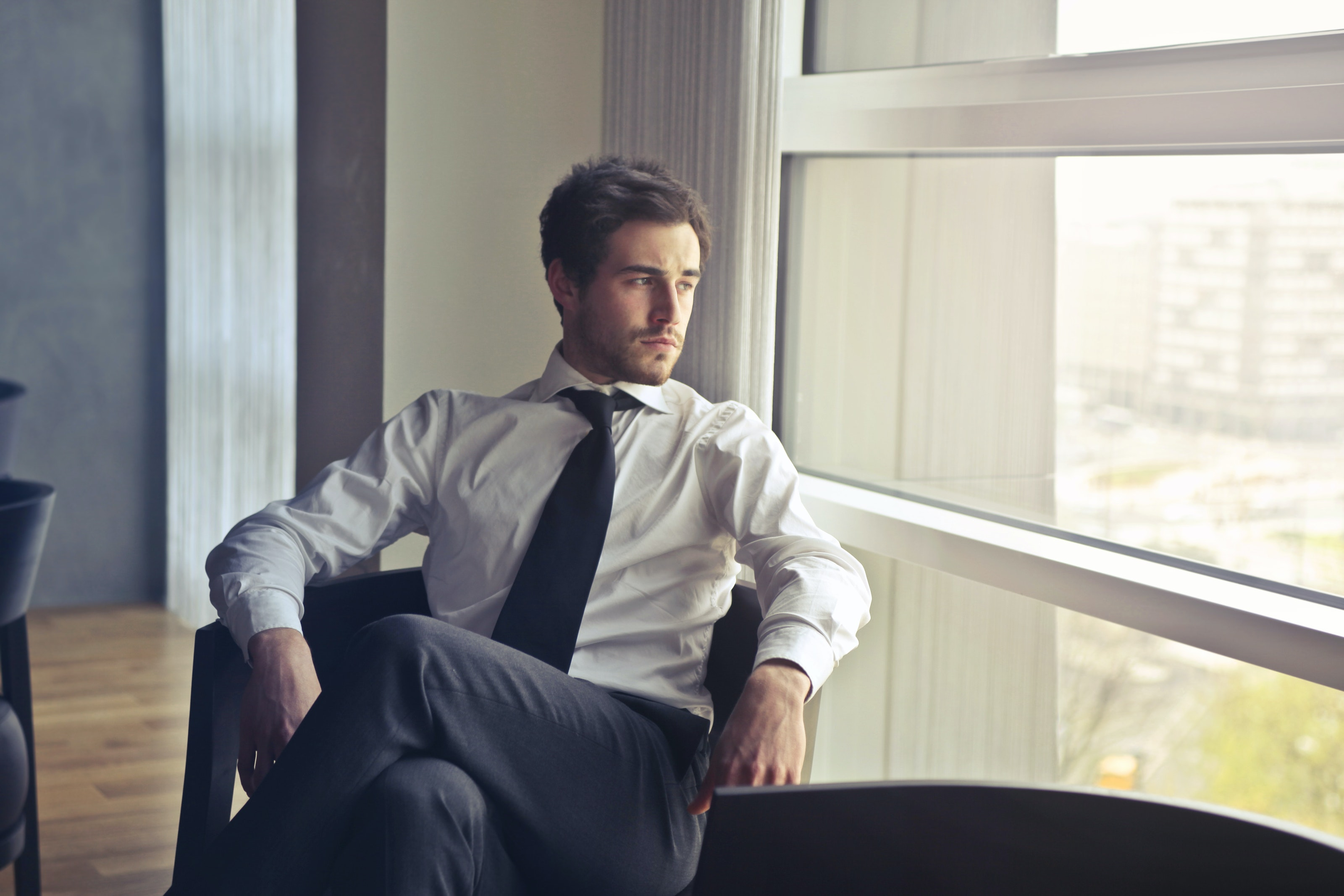 Hemden mit Krawatten - der perfekte Business-Look
