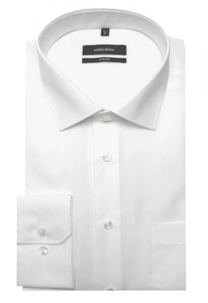 Seidensticker Hemd weiß SC-0001 Comfort Fit