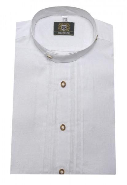 Stehkragen Trachten Hemd weiss von Orbis