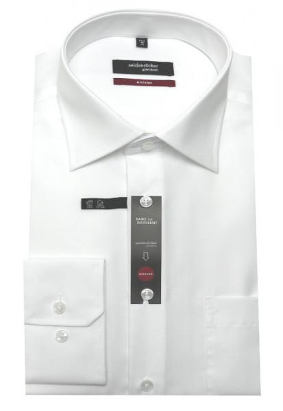 Seidensticker Hemd weiß bügelfrei SP-0040 Modern Fit