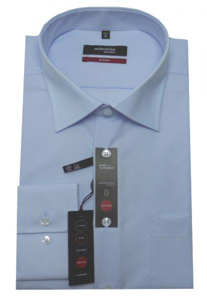 Hemd hellblau Modern Fit von Seidensticker bügelfrei