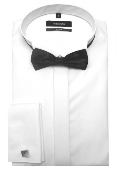 Seidensticker Smokinghemd weiß inkl. Fliege u. Mansch.knöpfe SR-2010 Shaped
