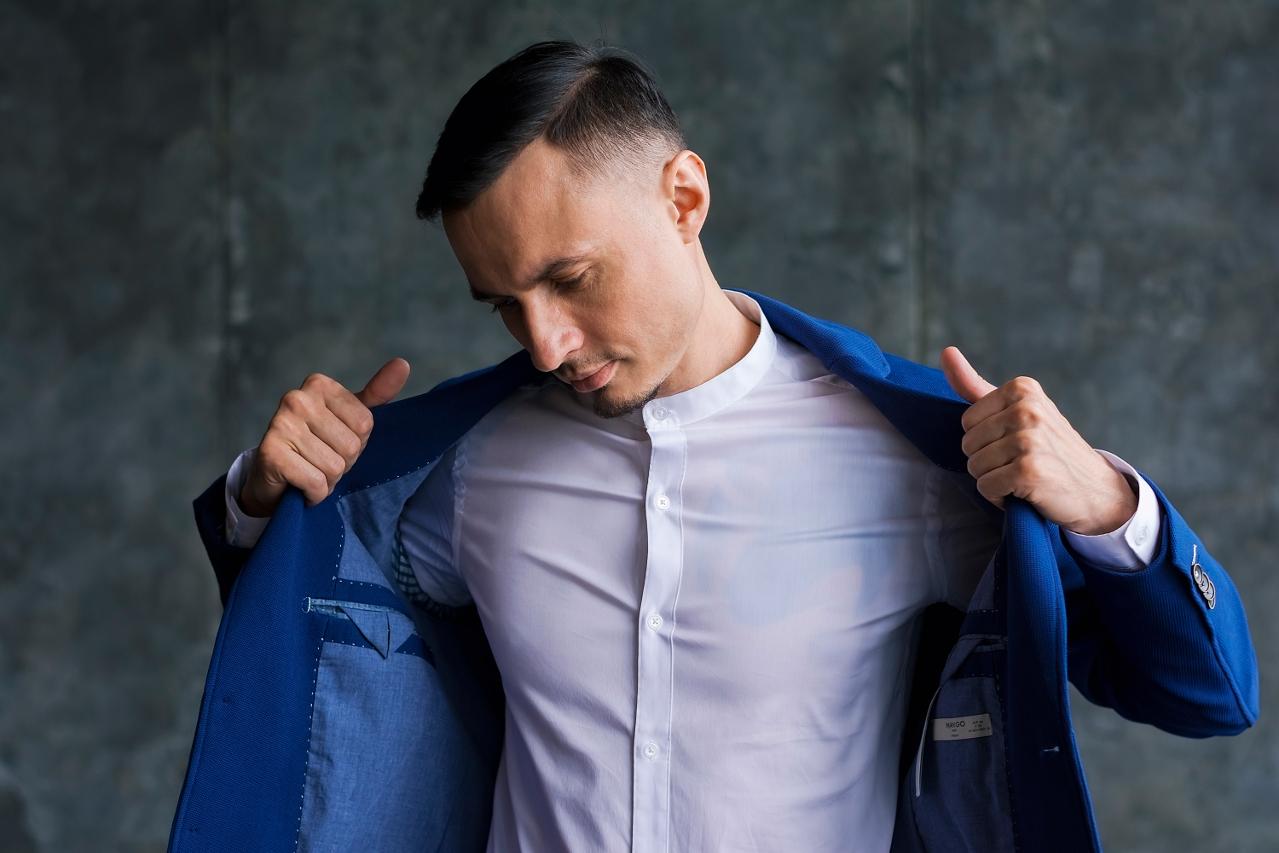 Slim Fit Stehkragenhemd – modern gekleidet zu jedem Anlass